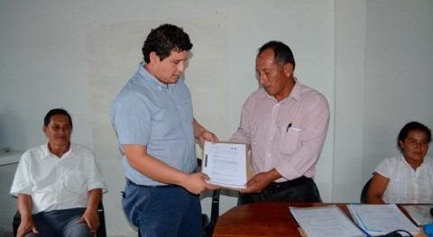 Ecuador entrega términos referencia beneficiar agua potable más 80 familias