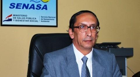 Celso Ayala, director general del SENASA.