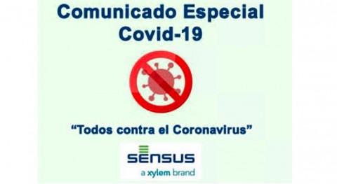 Comunicado global acciones y posicionamiento Sensus Alerta Sanitaria COVID-19