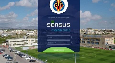 Tecnología Sensus medición fiable y precisa: ciudad deportiva Villarreal CF