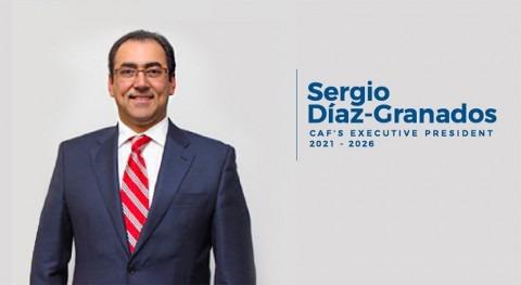 Sergio Díaz-Granados es elegido nuevo Presidente Ejecutivo CAF