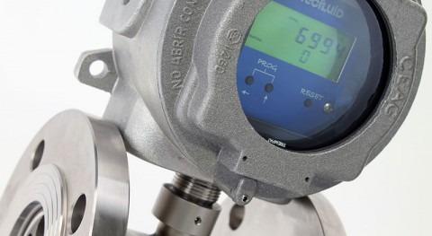 Caudalímetros turbina industria procesos