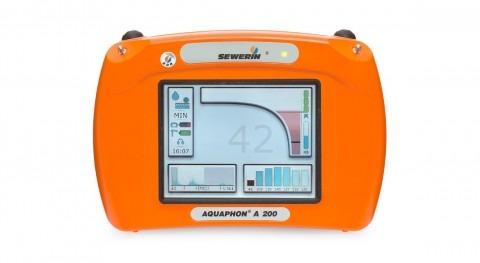 Geófono Aquaphon® A200 GNSS detección electroacústica fugas agua