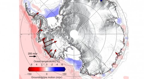 Antártida pierde línea apoyo debido al aumento temperatura oceánica