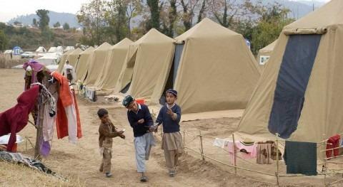 COVID-19 amenaza campos refugiados donde agua es bien escaso
