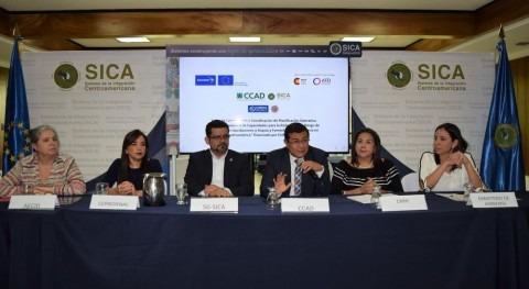 marcha proyecto reducir riesgo inundaciones y sequías Centroamérica