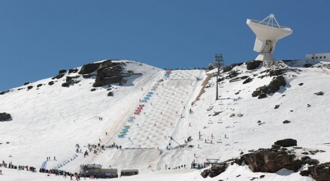 renovación red nieve Sierra Nevada se realiza suministros Saint-Gobain PAM