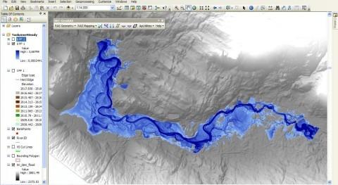 SIG Aplicados Hidrología y Análisis inundaciones software libre y ArcGIS PRO