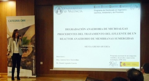 """S. Greses: """" producción biogás partir digestión anaerobia microalgas es viable"""""""