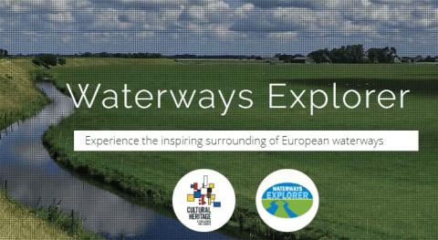 Waterways explorer: poniendo valor patrimonio canales y ríos europeos