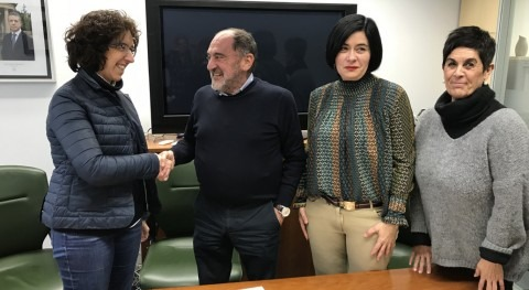 URA y Ayuntamiento Durango firman acuerdo colaboración acometer trabajos conjuntamente