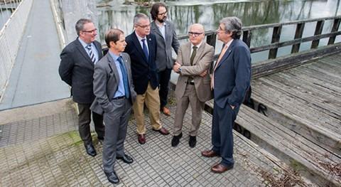 Acuerdo construcción senda fluvial margen derecha río Avia Leiro