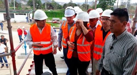 Gobierno Ecuador recorre sistema regional agua potable Esmeraldas