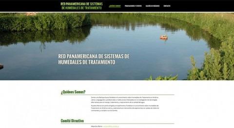 Creación Red Panamericana Sistemas Humedales Tratamiento