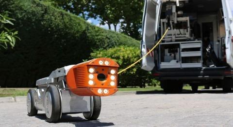 Sistemas última generación inspección tuberías distribuidos TECSAN