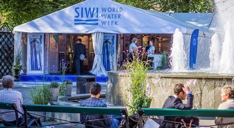 Se inaugura World Water Week Estocolmo, crisis agua punto mira