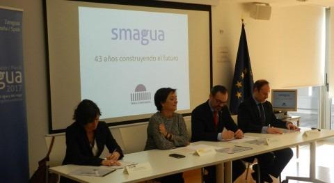 SMAGUA 2017 se presenta amplio apoyo institucional