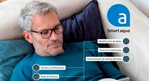 usuarios Aguas Caravaca Cruz realizan gestiones través app Smart Aqua