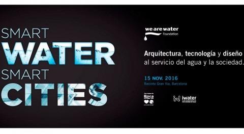 Smartwater, Smartcities se cita Iwater busca cooperación Europa y Latinoamérica