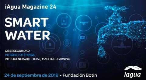 Reserva tu espacio en iAgua Magazine 24: Smart Water