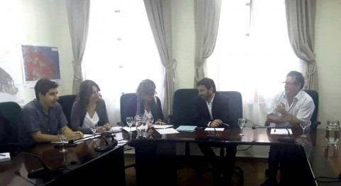 presidenta María Dolores Pascual realiza visita comarca Sobrarbe, Huesca