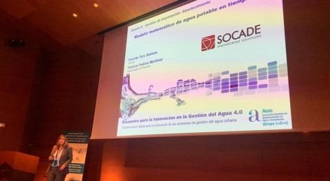SOCADE presenta Bilbao modelo matemático tiempo real aplicado al sector agua