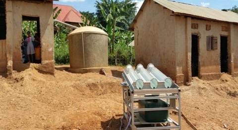 desinfección solar agua, método enfermedades transmisión hídrica África