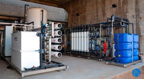 Solución global al aporte agua industria química