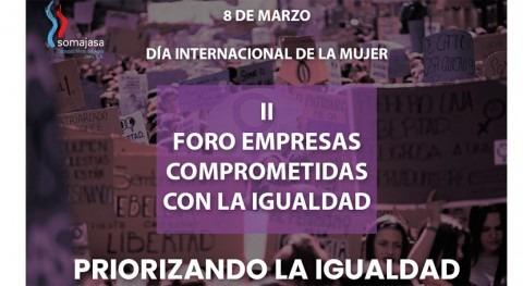"Somajasa celebra ""II Foro empresas comprometidas igualdad"""