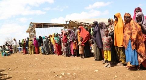 violencia y sequía dejan 250.000 desplazados este año Somalia