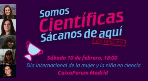 "investigadora Belén González Gaya participará ""Somos Científicas"", ¡ directo!"