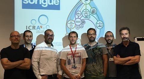 Sorigué colabora ICRA y LEQUIA I+D+I tratamiento y reutilización aguas residuales