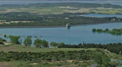CHE adjudica mantenimiento órganos inferiores desagüe Sotonera, Huesca
