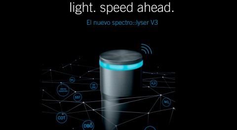 spectro::lyser V3: alta resolución monitorización online calidad agua