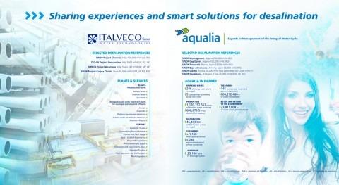 Aqualia e Italveco comparten experiencia y soluciones inteligentes WATEC Italy 2016