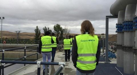 Alumnos Stanford University visitan EDAR Segovia