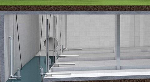 Depósitos retención aguas pluviales: problemas sedimentación