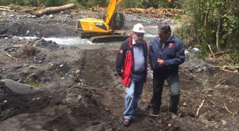 Gobierno chileno trabaja conectividad agua potable rural sector Cascadas