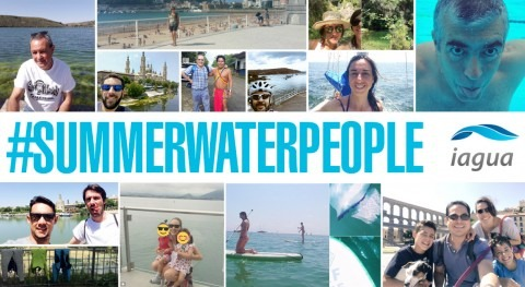 ensayo general #SummerWaterpeople arrasó Twitter