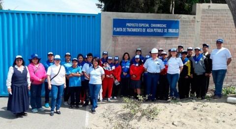 Brigadieres agua aprendieron proceso potabilización agua