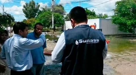SUNASS supervisa funcionamiento plantas agua y cámaras desagües EPS GRAU