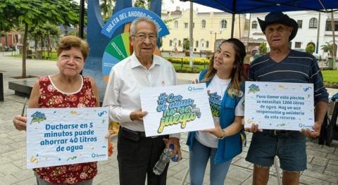 Sunass promueve uso responsable agua potable durante verano y carnavales
