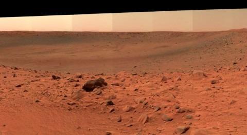 agua formó ríos y lagos Marte durante cortos períodos cálidos