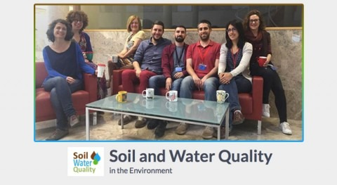 "grupo investigación ""Soil and Water Quality in the Environment"" estrena web"