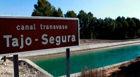 Trasvase Tajo-Segura: propuestos 19,2 hm3 mes octubre