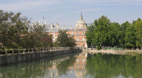 El Tajo a su paso por Aranjuez (Wikipedia).