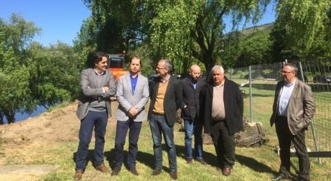 Confederación Miño-Sil trabaja estabilización taludes dañados crecidas