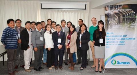 SUNASS organizó taller valores máximos admisibles 50 empresas agua