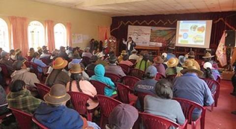 Autoridad Nacional Agua forma agricultores Lampa derecho aguas