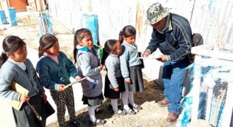 Bolivia inicia talleres saneamiento, medio ambiente y agua barrios periurbanos Oruro